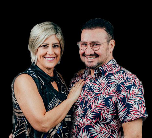 Pedro Flori Ramos e Suzi Ramos